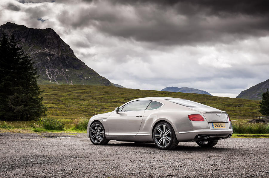 Bentley Continental Continental GT rear