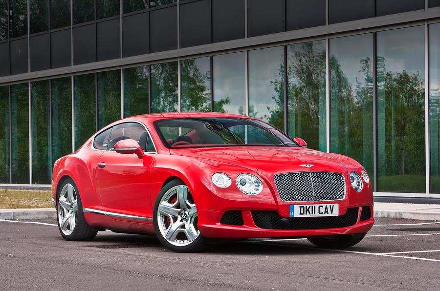 4 star Bentley Continental GT