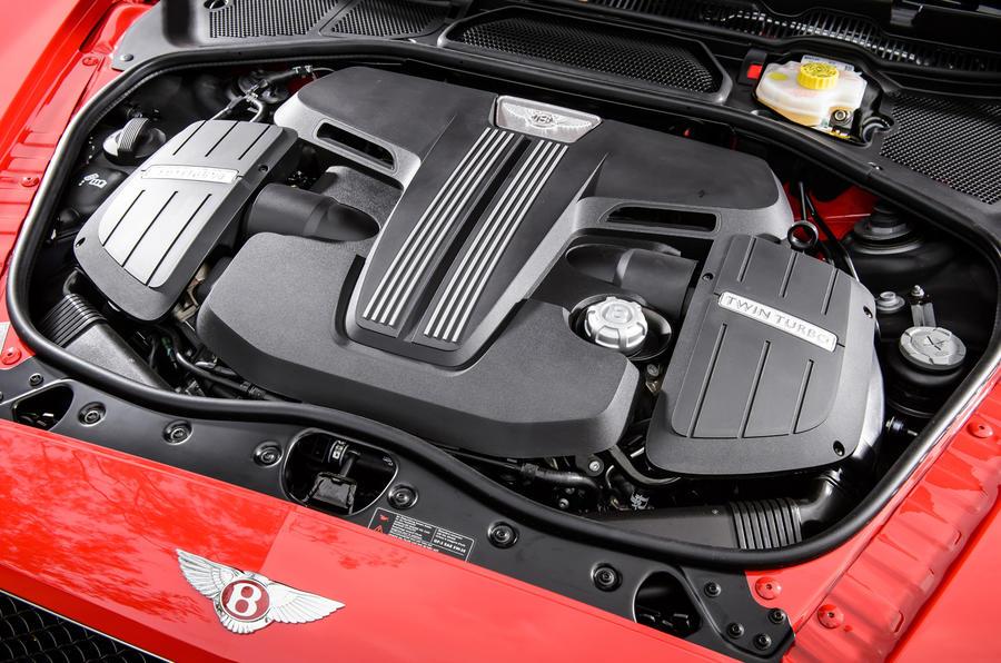 4.0-litre V8 Bentley Continental GT V8 S engine