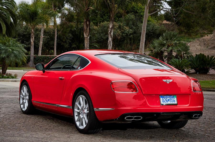Bentley Continental GT V8 S rear