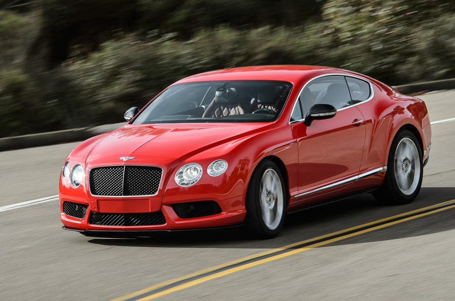 Bentley Continental Gt V8 S First Drive