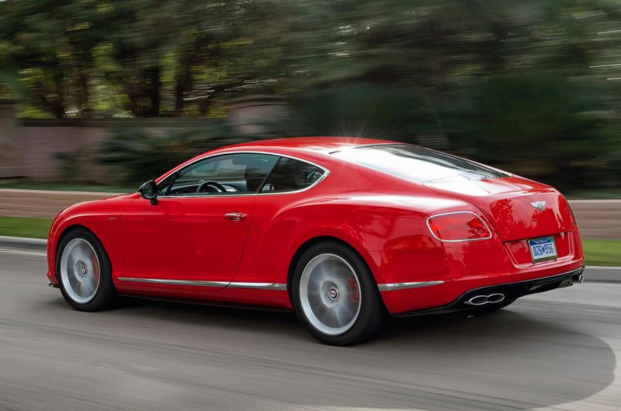 Bentley Continental GT V8 S rear quarter