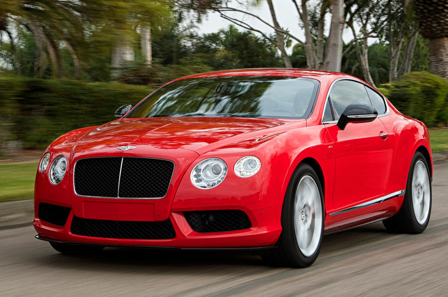 Bentley Continental GT V8 S first drive review
