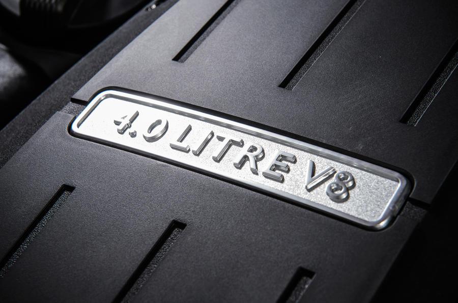 Bentley Continental GT V8 S engine plaque