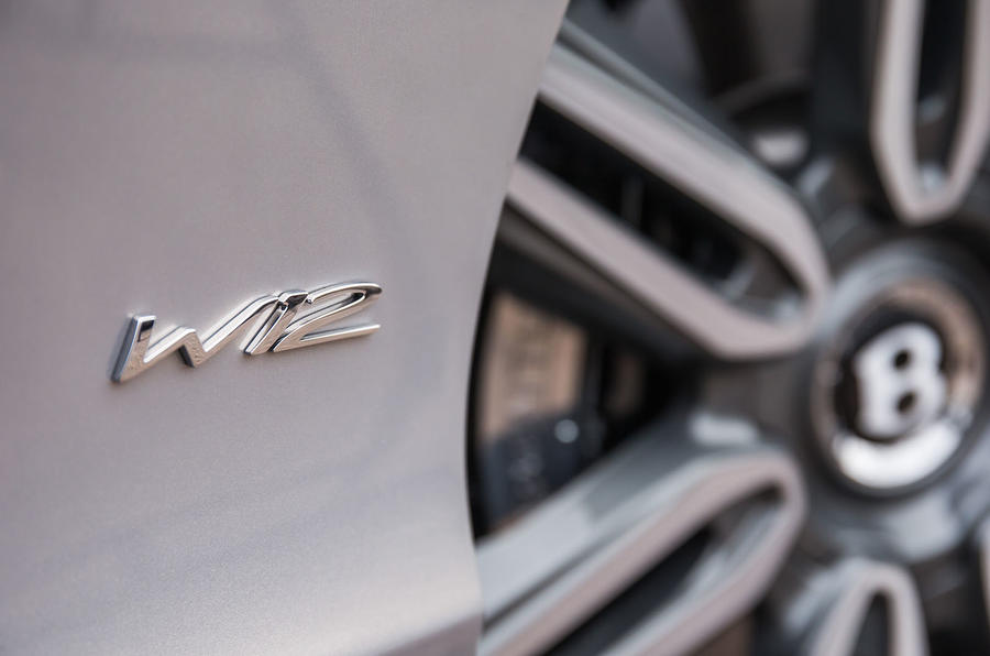 Bentley Continental GT W12 badging