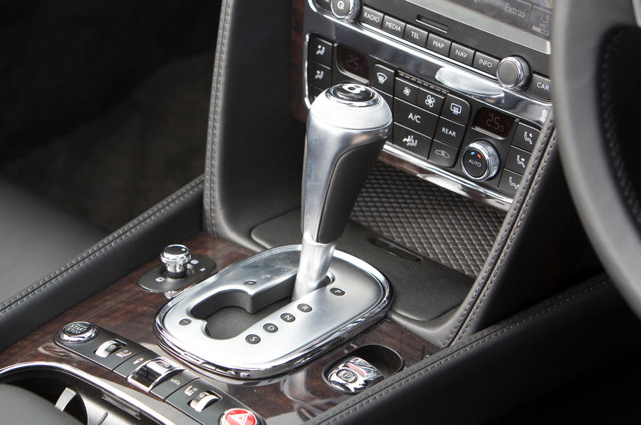 Bentley Continental GTC auto gearbox