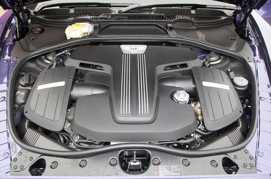 6.0-litre W12 Bentley Continental GTC