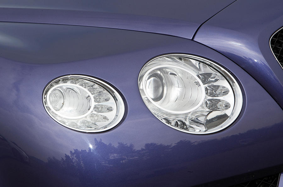 Bentley Continental GTC headlights