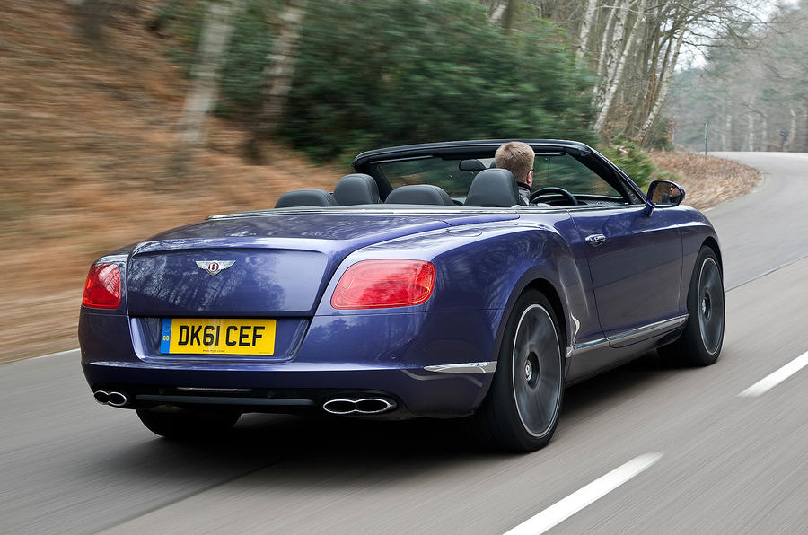 Roof Down Continental GTC
