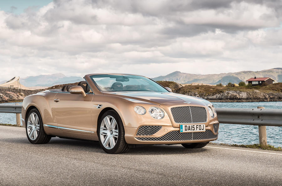 4 star Bentley Continental GTC