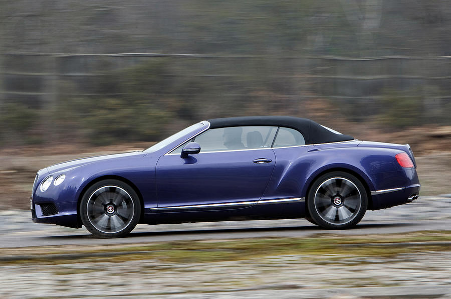 Roof up Bentley Continental GTC