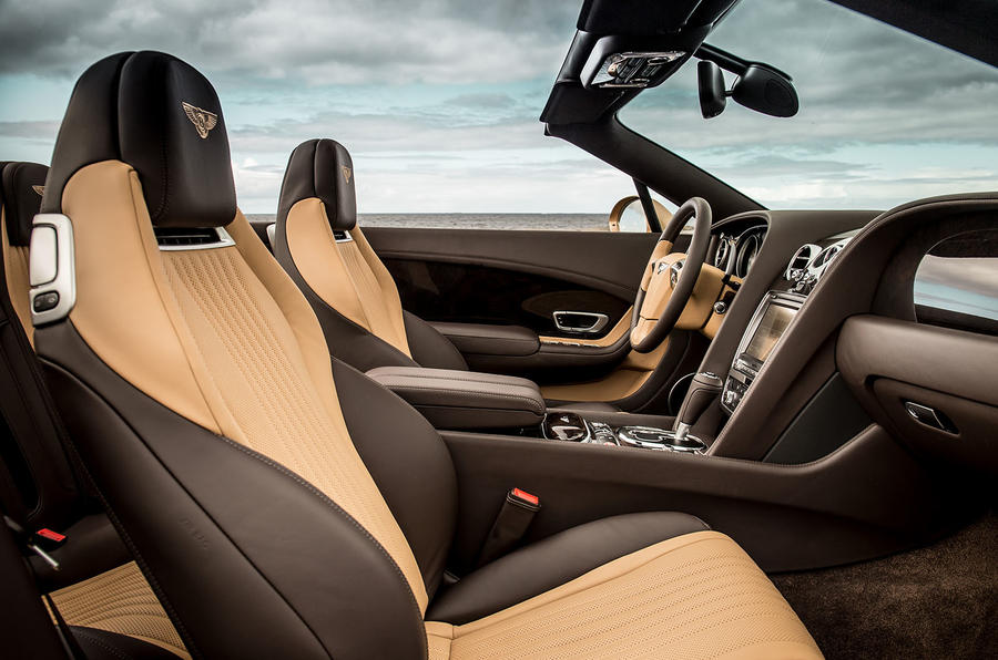 Bentley Continental GTC interior