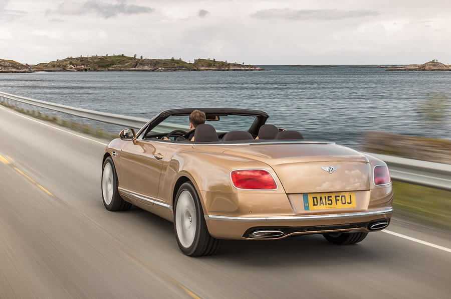 Bentley Continental GTC rear