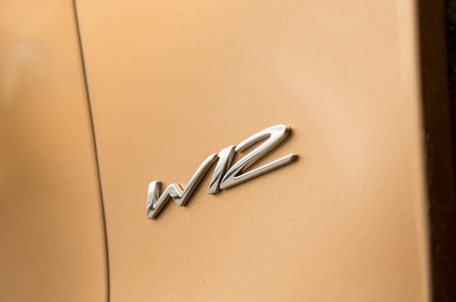 Bentley Continental GTC W12 badging
