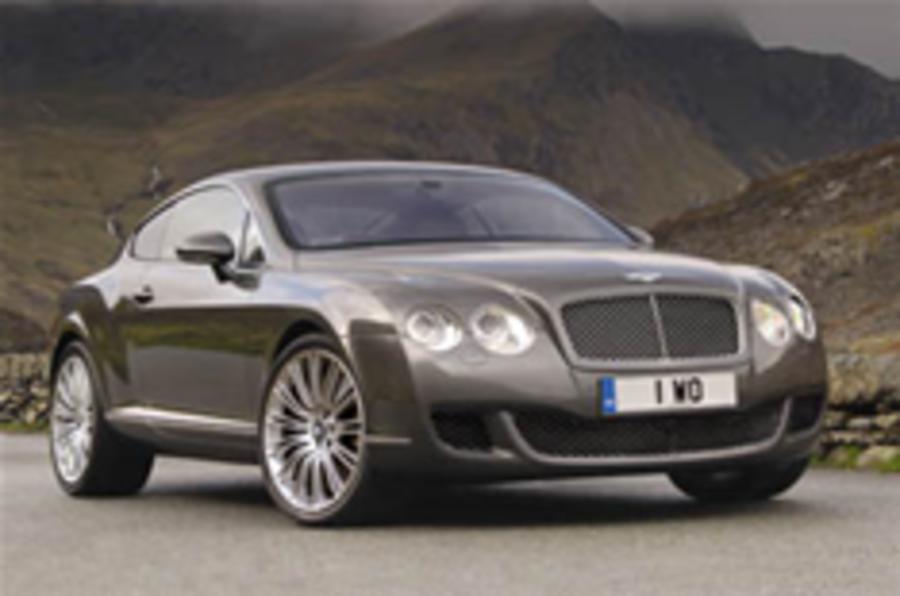 Bentley reveals souped-up Conti GT