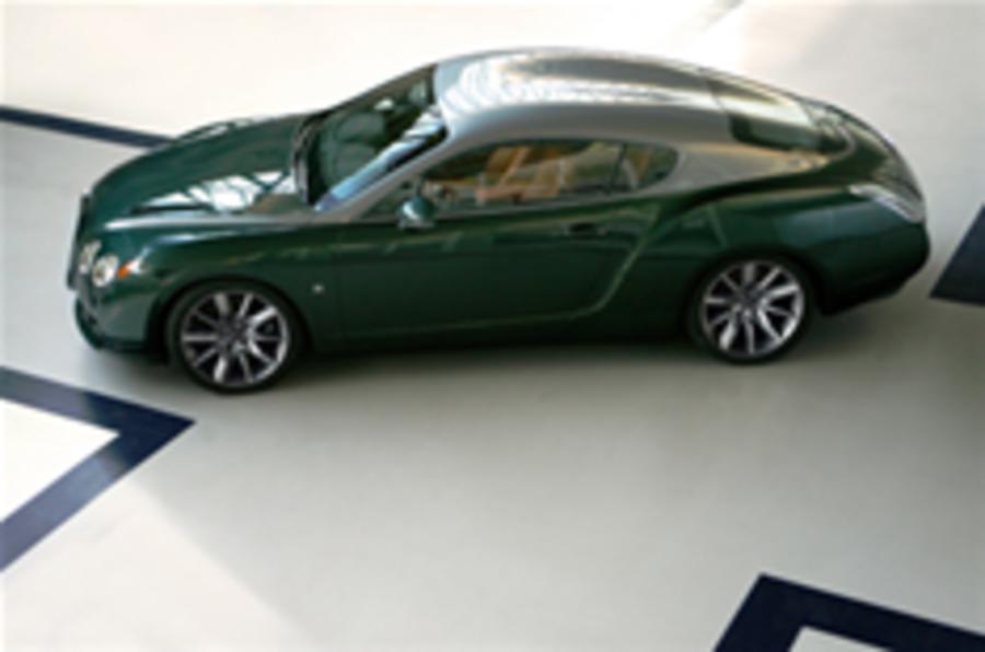 Bentley Zagato GTZ revealed