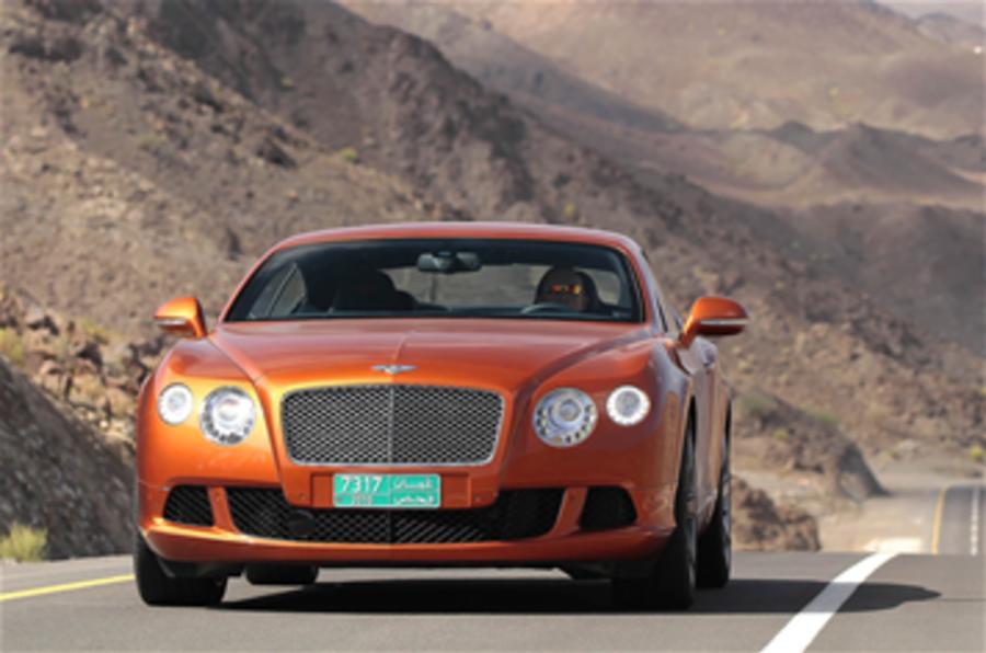 New Bentley V8 details