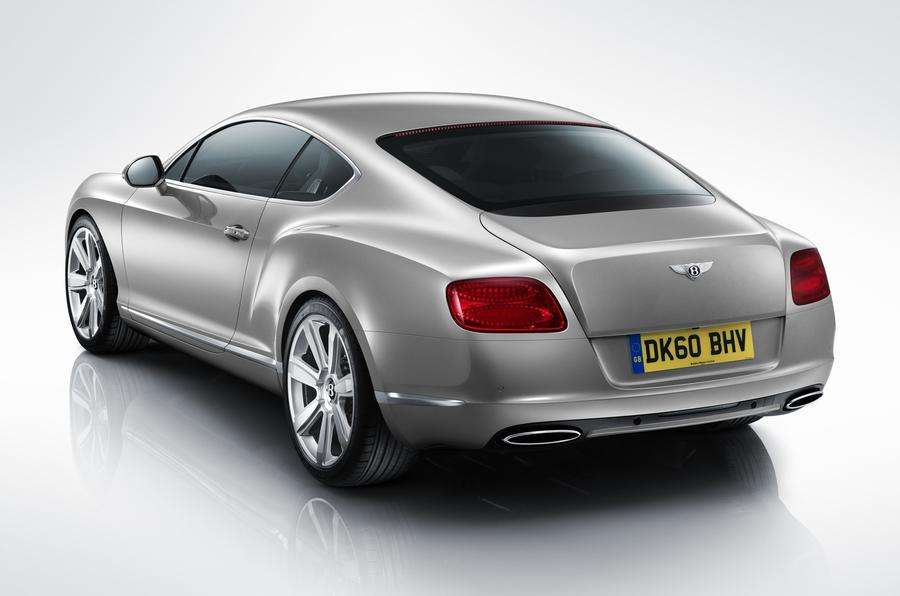 Paris motor show: Bentley Continental GT