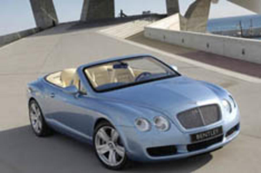 Bentley launches Continental convertible