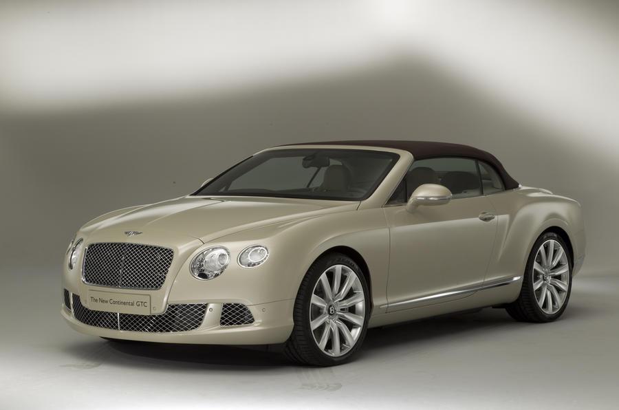 Frankfurt: Bentley Continental GTC