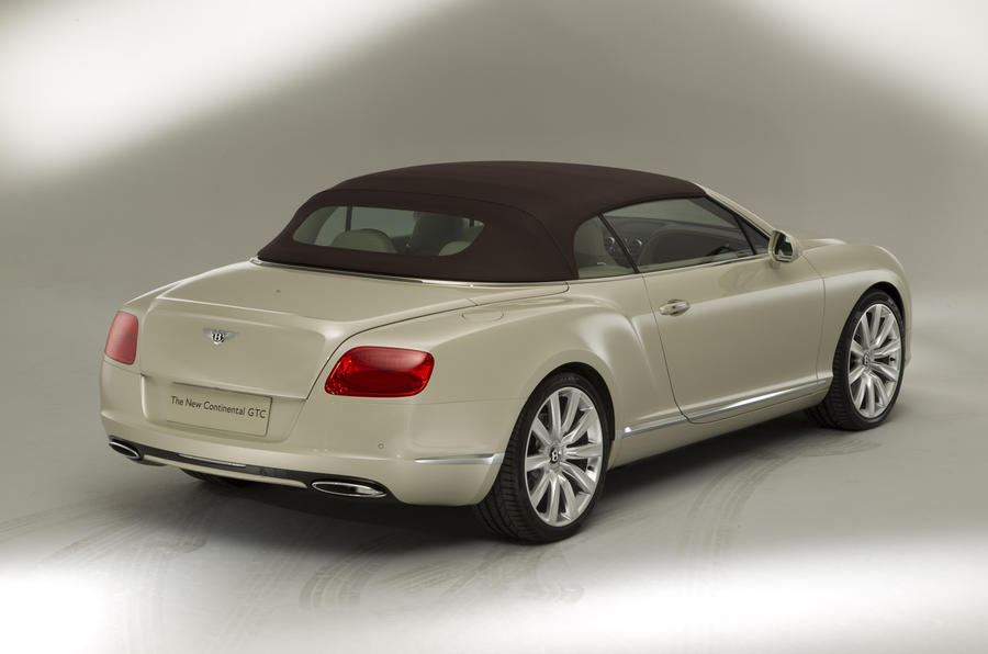 Frankfurt: Bentley Continental GTC