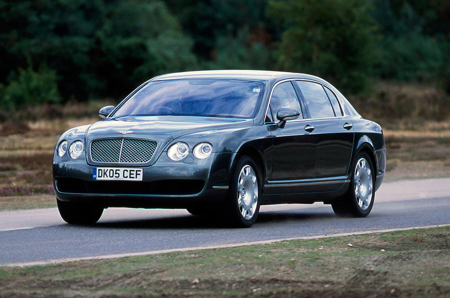 Twin-turbo Bentley Continental Flying Spur