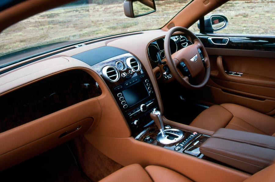 Bentley Flying Spur dashboard