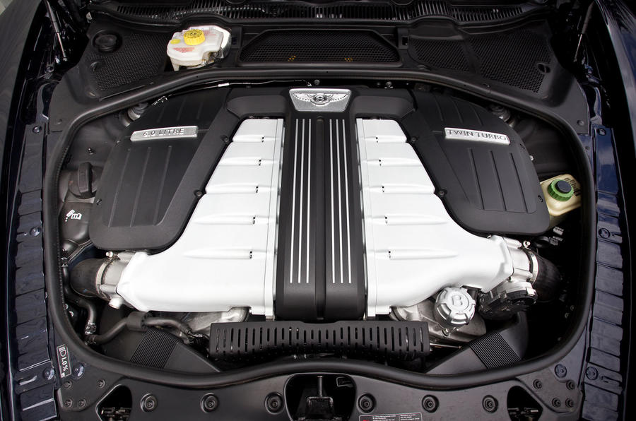6.0-litre W12 Bentley Flying Spur engine