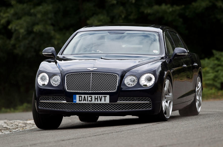 Bentley Flying Spur cornering