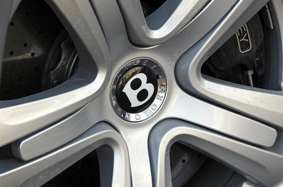 19in Bentley Flying Spur alloy wheels