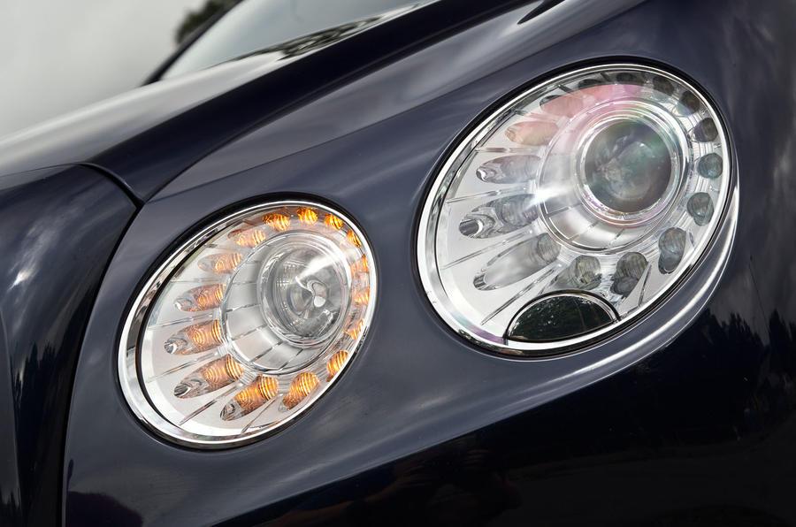 Bentley Flying Spur headlights