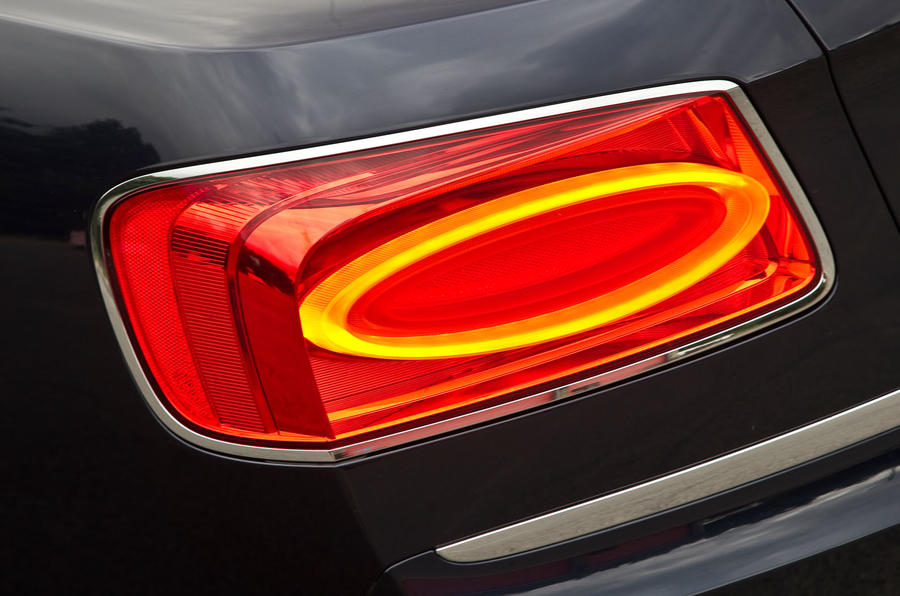 Bentley Flying Spur rear lights