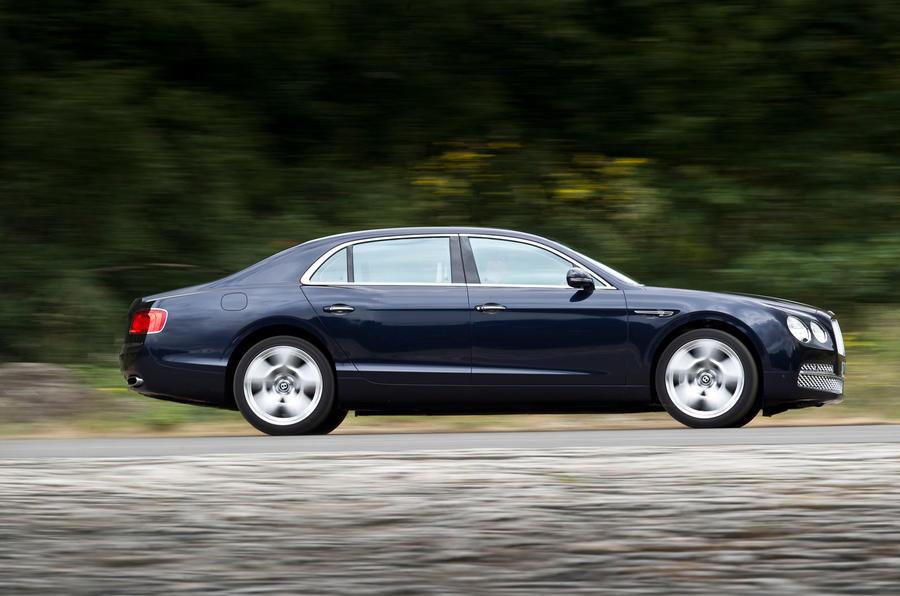 616bhp Bentley Flying Spur side profile