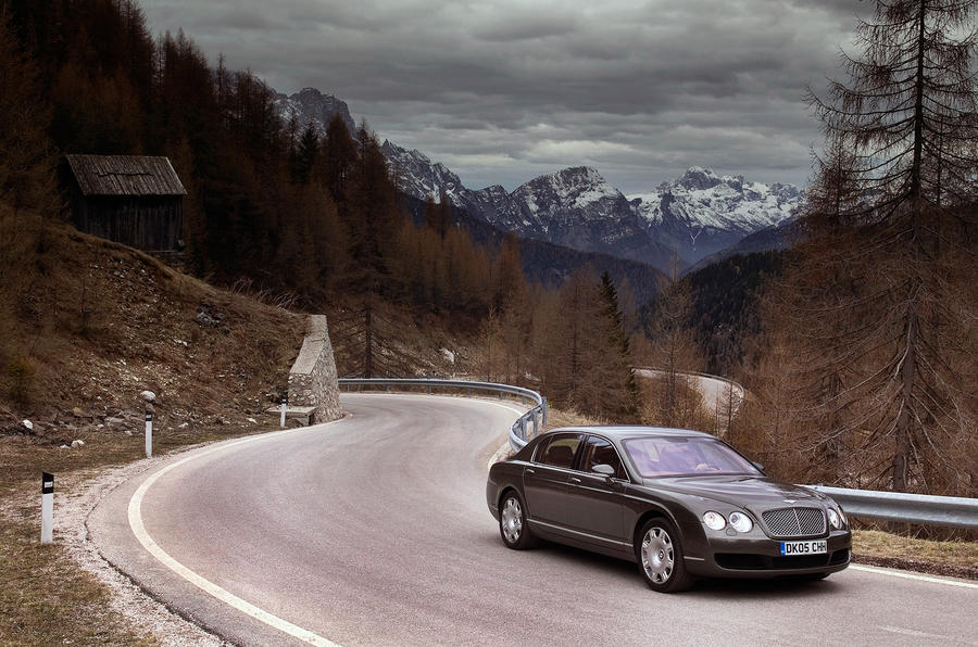 Bentley Continental Flying Spur cornering