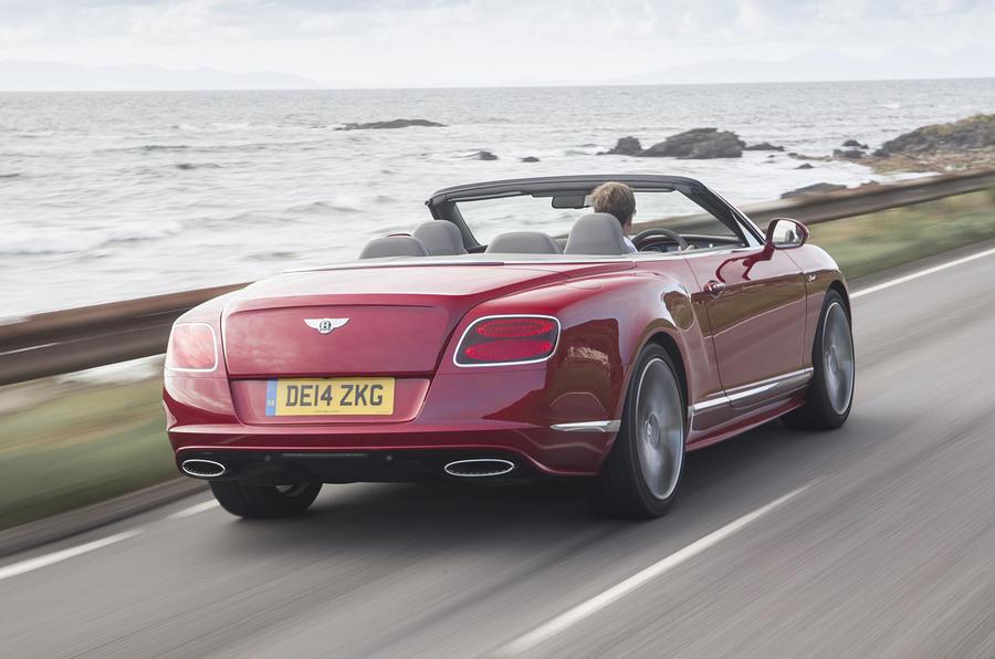 Bentley Continental GT Speed convertible rear