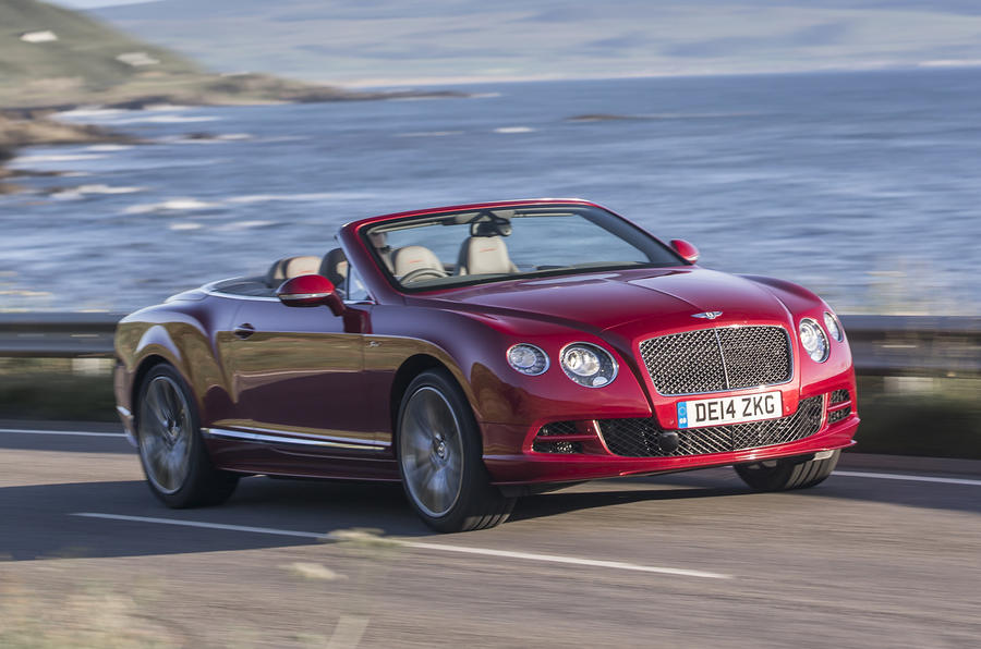 203mph Bentley Continental GT Speed