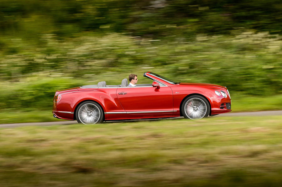 626bhp Bentley Continental GT Speed convertible