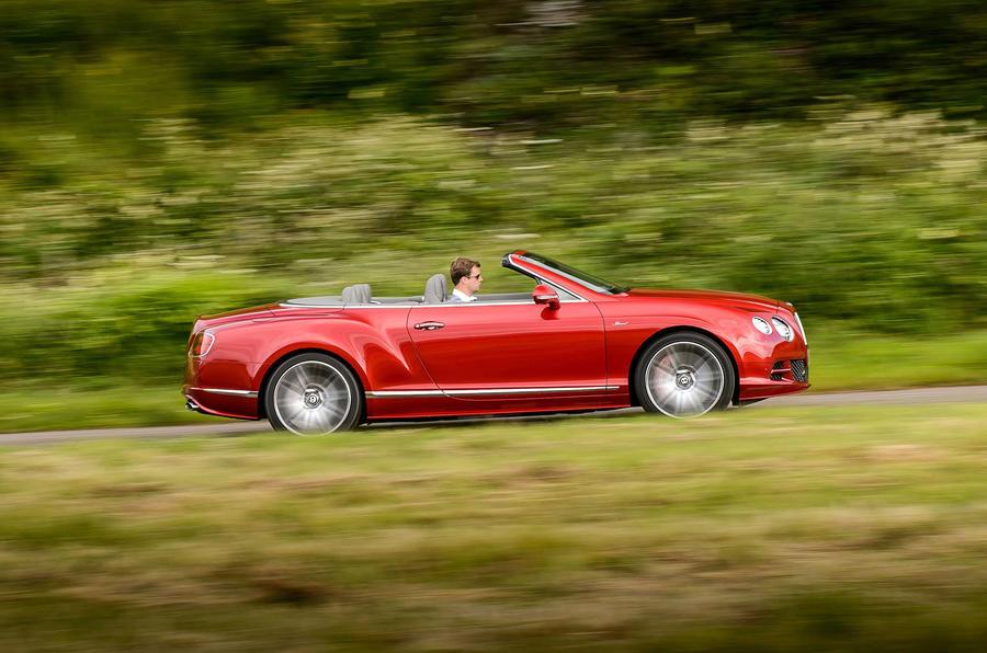 626bhp Bentley Continental GT Speed convertible