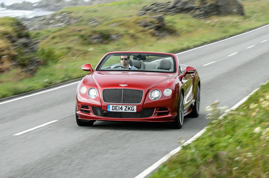 £172,400 Bentley Continental GT Speed convertible