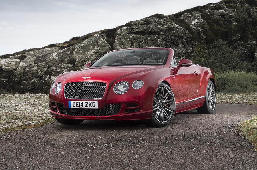 4 star Bentley Continental GT Speed convertible