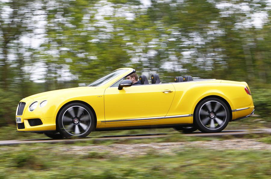 Aj95 Bentley Blue Drive Car: Bentley Continental GT V8 S Convertible First Drive