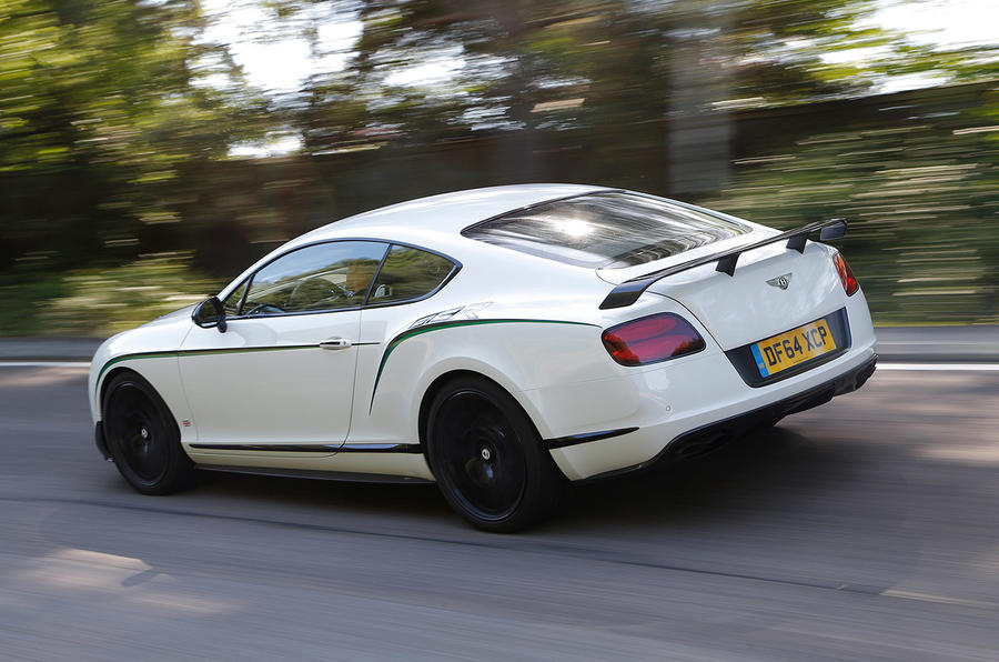 Bentley Continental GT3-R rear
