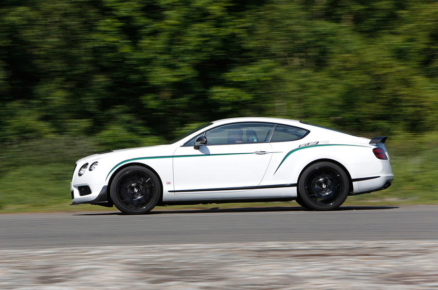 Continental GT3-R does 0-62mph in 3.7secs