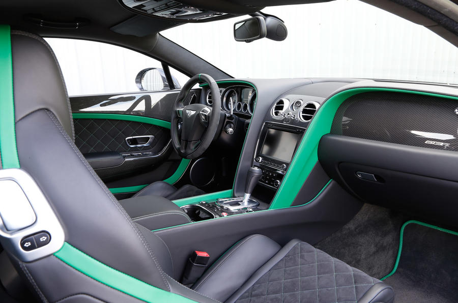 Bentley Continental GT3-R front seats