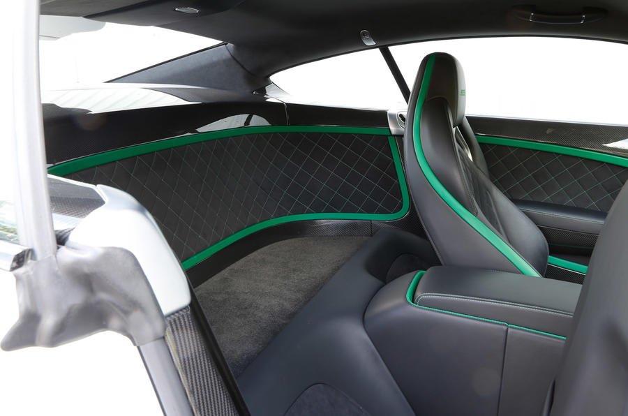 Bentley Continental GT3-R rear space
