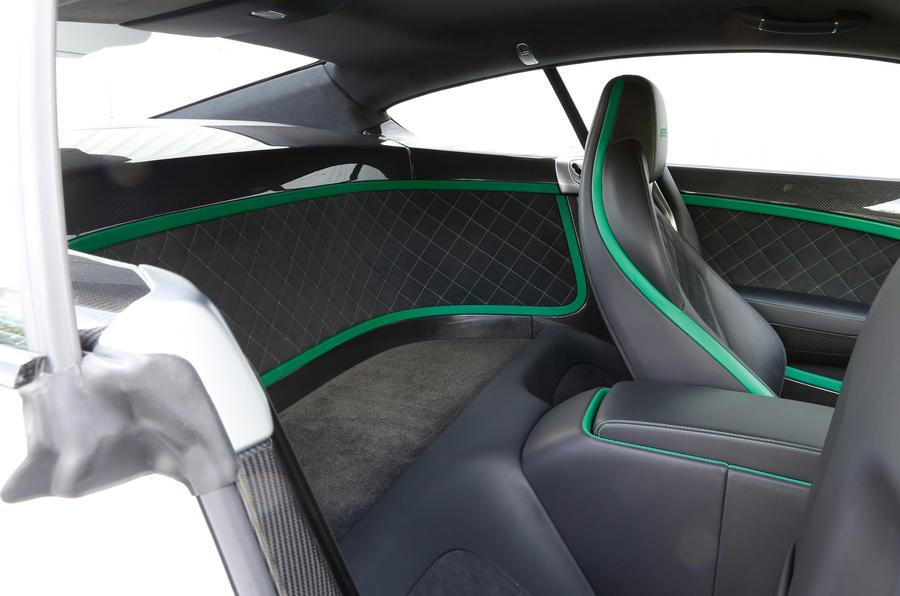 Bentley Continental GT3-R rear space