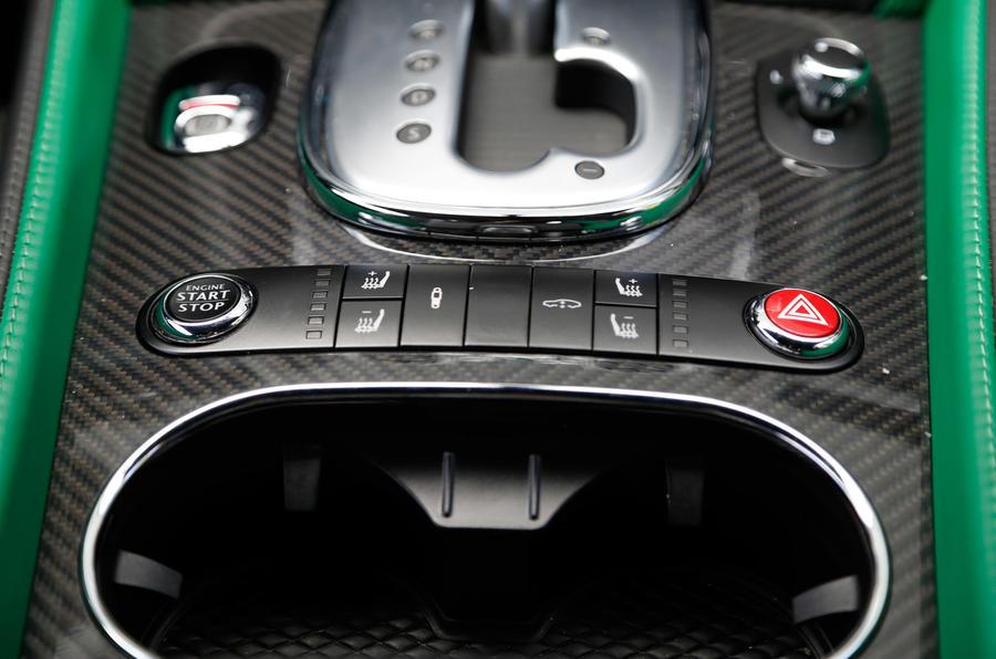 Bentley Continental GT3-R auto gearbox
