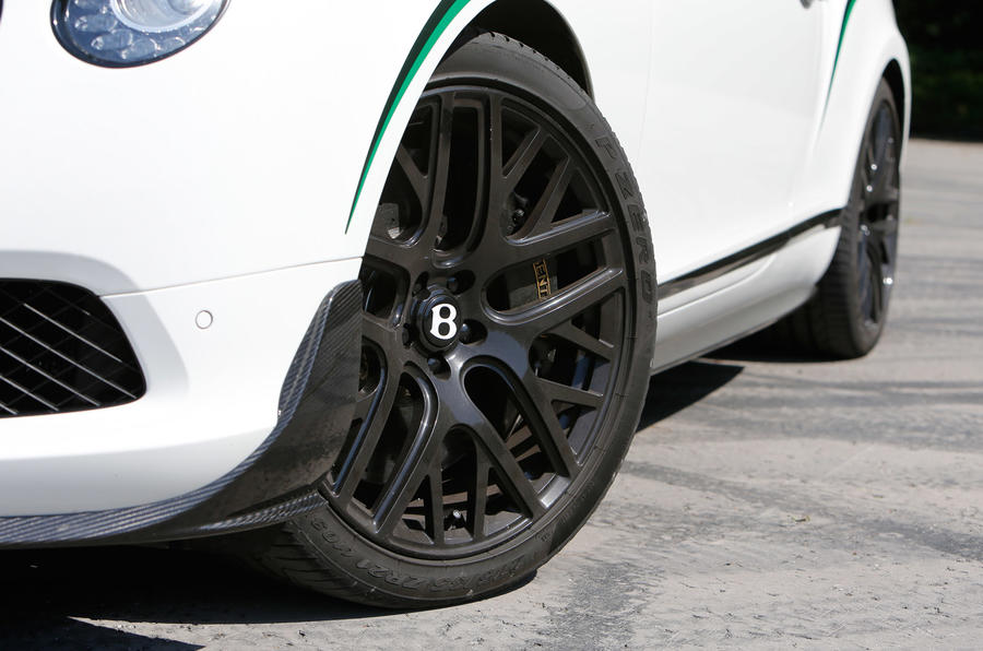 21in alloys on the Continental GT3-R