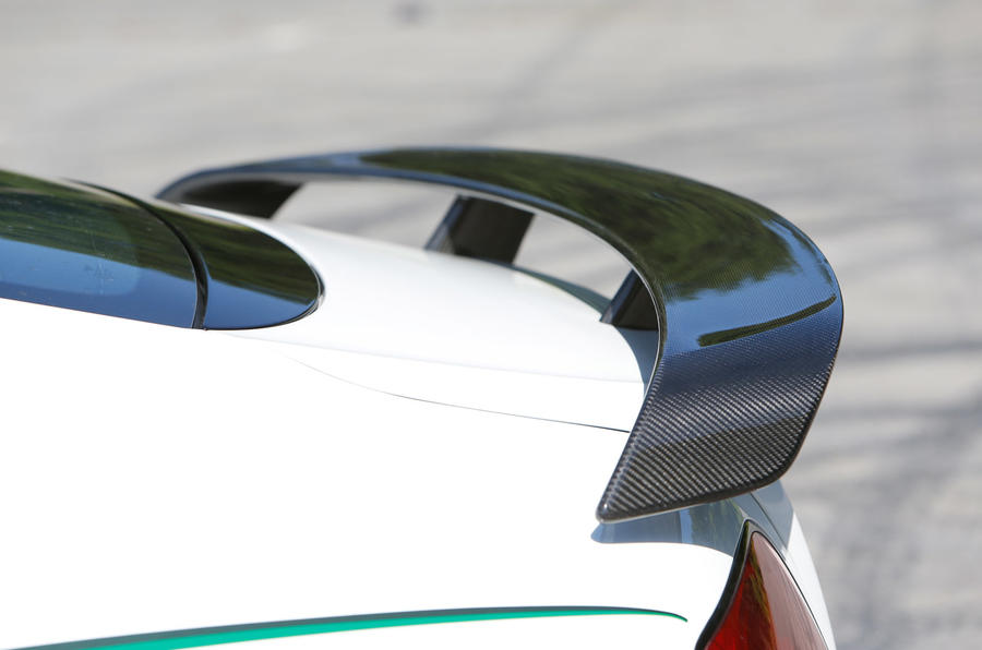 Bentley Continental GT3-R rear wing