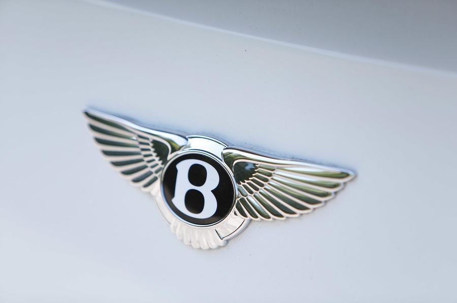 Bentley badging